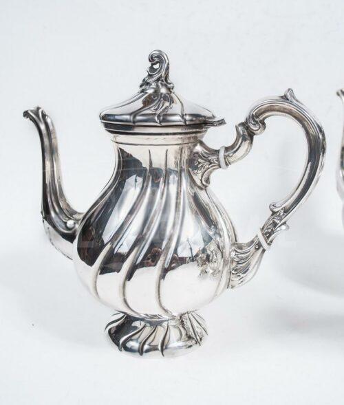 Juego de té de Plata Ley 925 - 5pzas | 3