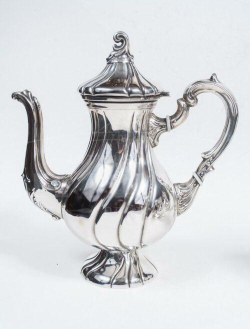 Juego de té de Plata Ley 925 - 5pzas | 4