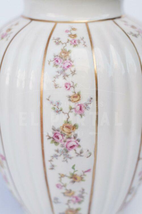 Ánfora jarrón de porcelana Bavaria | 3