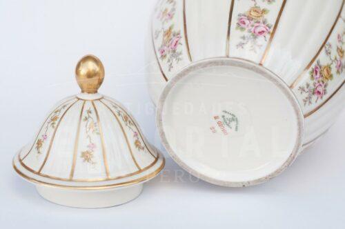 Ánfora jarrón de porcelana Bavaria | 4