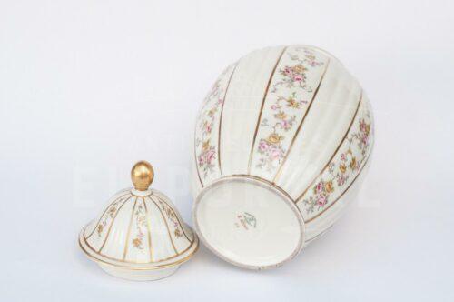 Ánfora jarrón de porcelana Bavaria | 5