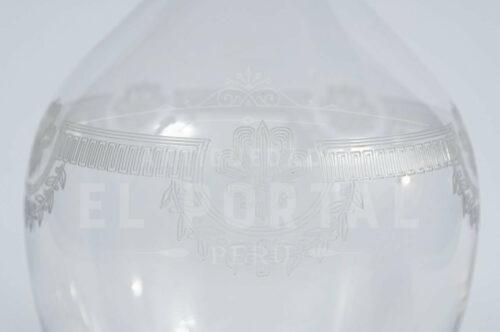 Licorera de cristal San Luis estilo Imperio | 2