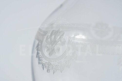 Licorera de cristal San Luis estilo Imperio | 3
