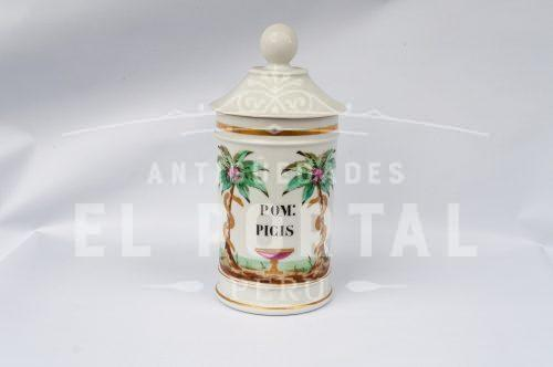 Botamen conservera de botica de porcelana | 1