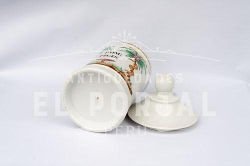 Botamen conservera de botica de porcelana | 3