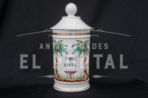 Botamen conservera de botica de porcelana | 4