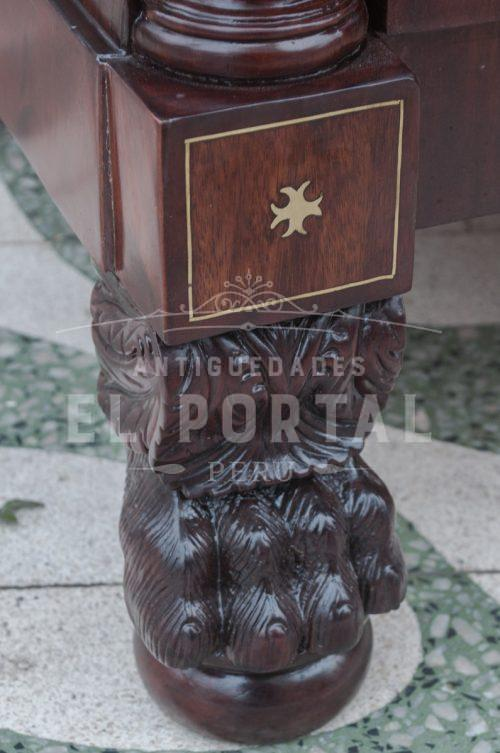 Cómoda criolla marquetería en bronce | 4
