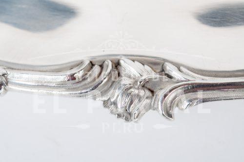 Christofle Fuente de plaqué ovalada | 3