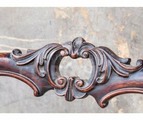 Silla estilo Victoriano madera de Palisandro   2