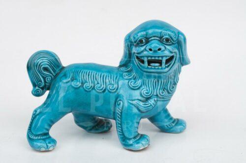 León chino (Foo Dog) de porcelana | 1
