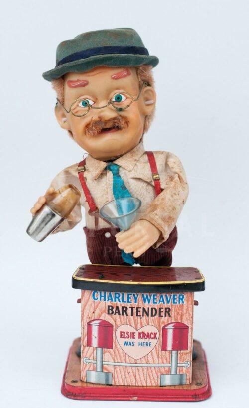 Charley Weaver bartender juguete de latón   1