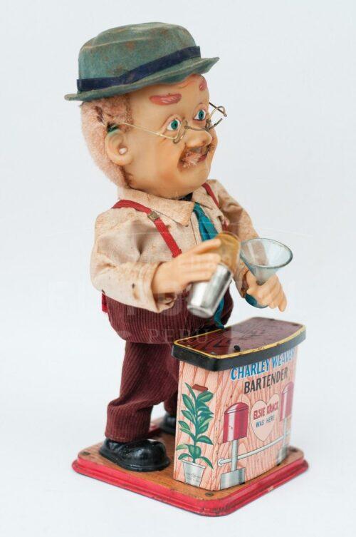 Charley Weaver bartender juguete de latón   2