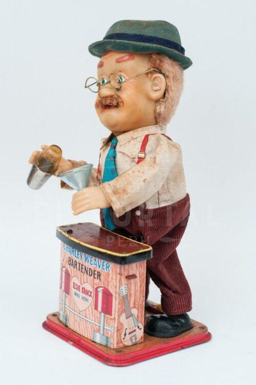 Charley Weaver bartender juguete de latón   3