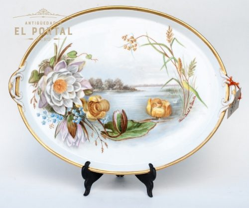 10480-plato-oval-porcelana-dresden-germany