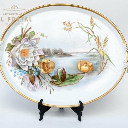 10480-plato-oval-porcelana-dresden-germany