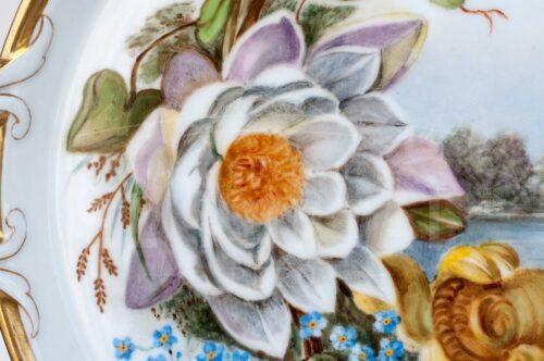 Plato oval de servir de porcelana | 2