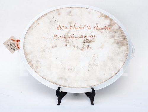 Plato oval de servir de porcelana | 5