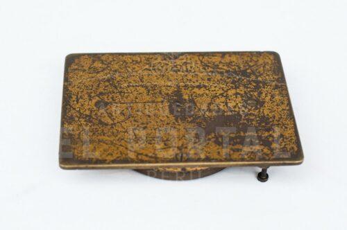 Brújula de bolsillo de bronce | 3