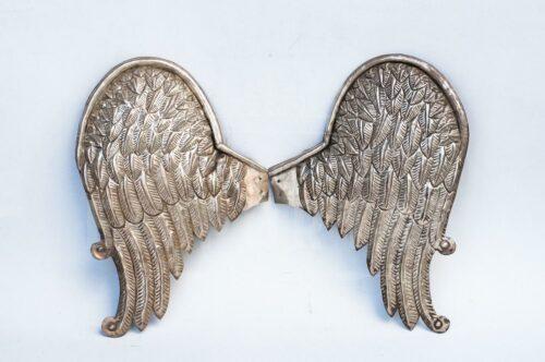 Par de alas de plaqué repujado | 4