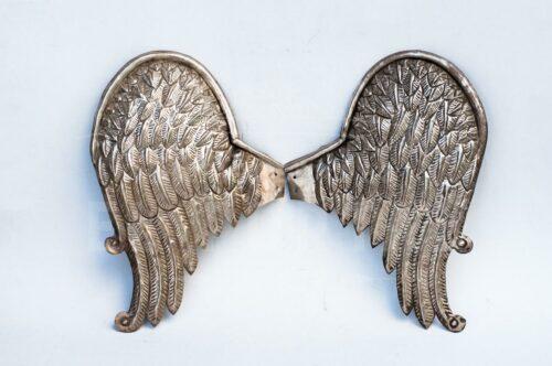 Par de alas de plaqué repujado | 5