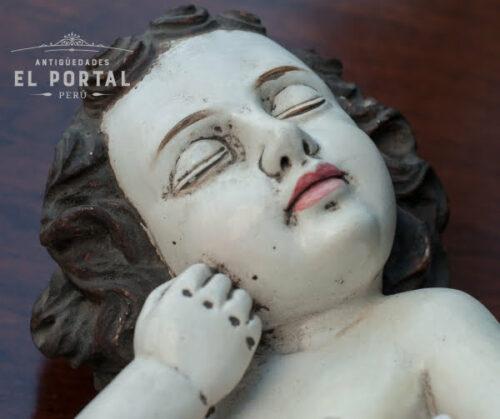 Niño Jesús en madera tallada | 4