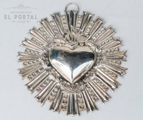 5844B-ex-voto-de-plaque-corazon-de-jesus