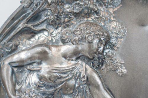 WMF Art Nouveau placa Decorativa | 5