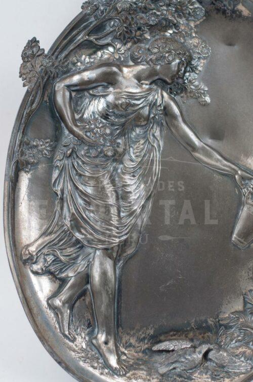 WMF Art Nouveau placa Decorativa | 2