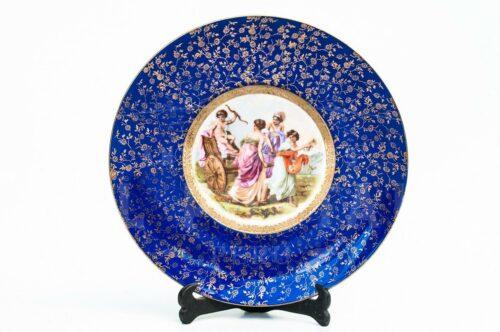 Plato decorativo de porcelana Monschendorf | 1
