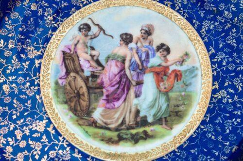 Plato decorativo de porcelana Monschendorf | 5