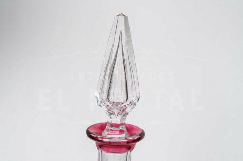 Licorera Decantador de cristal San Luis   2