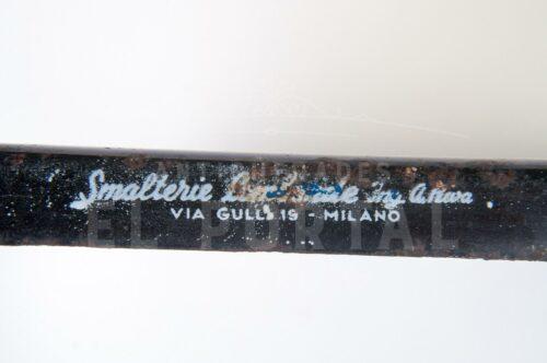 Letrero esmaltado de Llantas Pirelli | 3