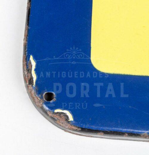 Letrero esmaltado de Llantas Pirelli | 5