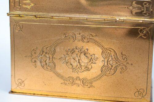Cofre de bronce francés estilo Luis XV | 5