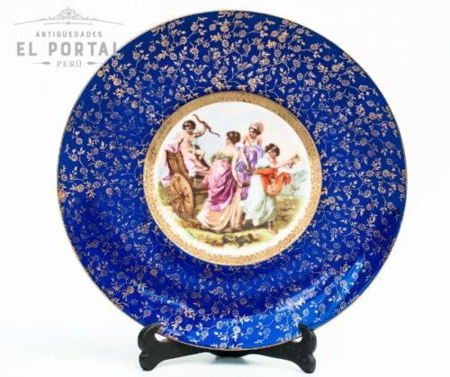 porcelana-bavaria-plato-de-pared