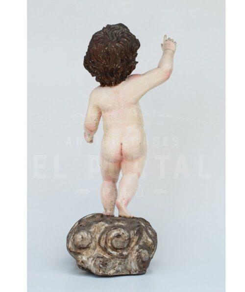 Niño Jesús en madera tallada | 3
