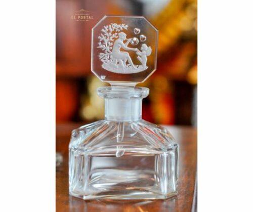 Heinrich Hoffman Botella de perfume Art Deco de Cristal | 1