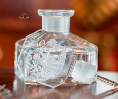 Heinrich Hoffman Botella de perfume Art Deco de Cristal | 3