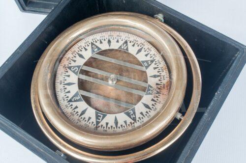 Brújula de bronce Wilcox Crittenden Co | 3