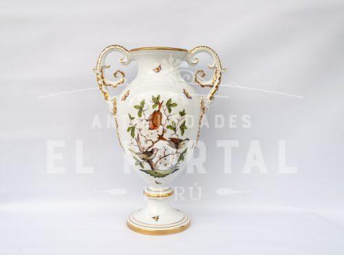 Jarrón decorativo de porcelana Herend - Hungría | 1
