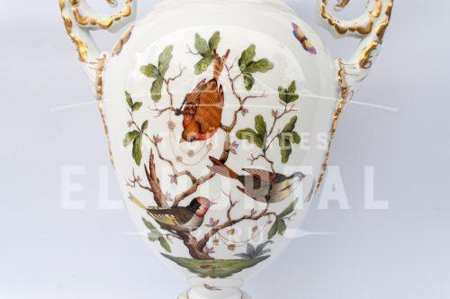 Jarrón decorativo de porcelana Herend - Hungría | 2