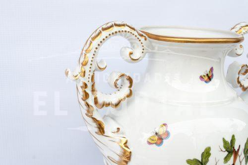Jarrón decorativo de porcelana Herend - Hungría | 4