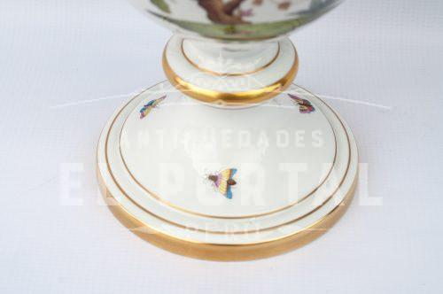 Jarrón decorativo de porcelana Herend - Hungría | 5