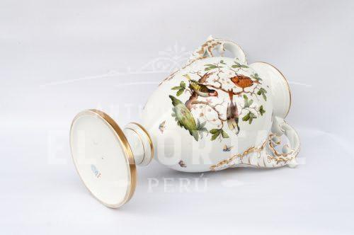 Jarrón decorativo de porcelana Herend - Hungría | 6
