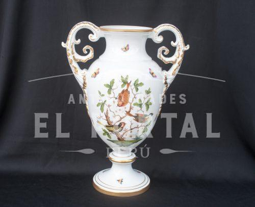Jarrón decorativo de porcelana Herend - Hungría | 8