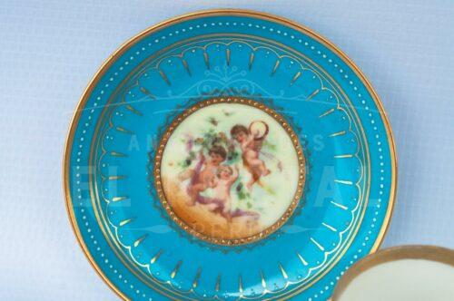 Taza de Café / Té de porcelana Royal Vienna | 6
