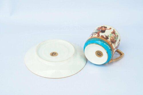 Taza de Café / Té de porcelana Royal Vienna | 4