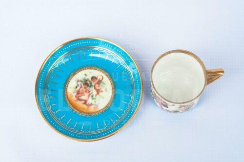 Taza de Café / Té de porcelana Royal Vienna | 3