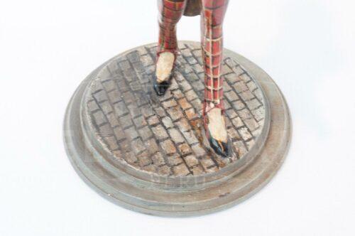 Figura en yeso de hombre inglés caminando | 4
