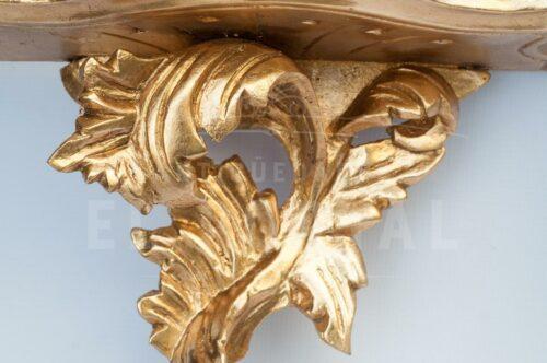 Ménsula de madera tallada en Pan de Bronce (Set 2) | 5